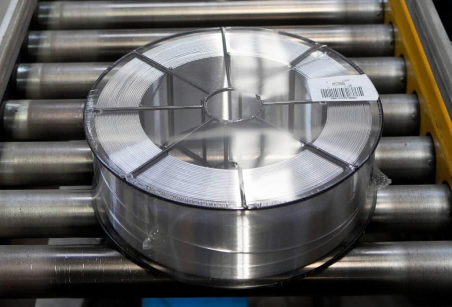Сварочная проволока MIG 5356 AlMg5 1,2mm 7kg, NOVAMETAL