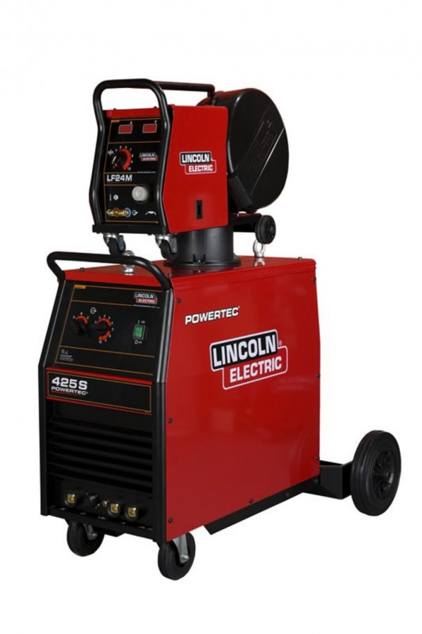 Lincoln Electric Mig Welder >> Semiautomatic Welder Powertec 425s Air Lincoln Electric Mig Power