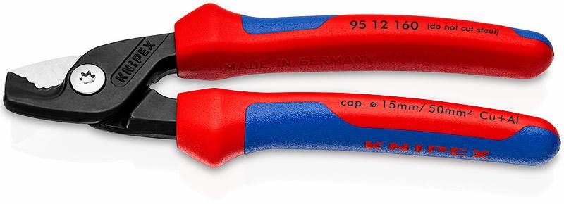 kaablikäärid StepCut D15mm/50mm2 plastik käepide, Knipex