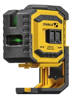 Ristjoon- ja punktlaser LAX 300 G roheline kiir, Stabila