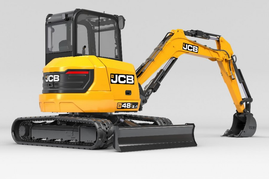 Mini ekskavators  48Z-1, JCB