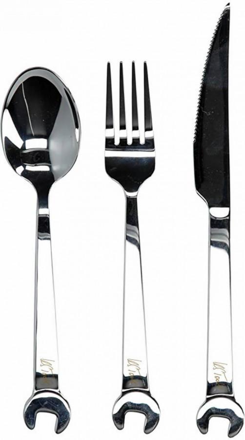 Kahvel, nuga , lusikas kmpl, KS Tools