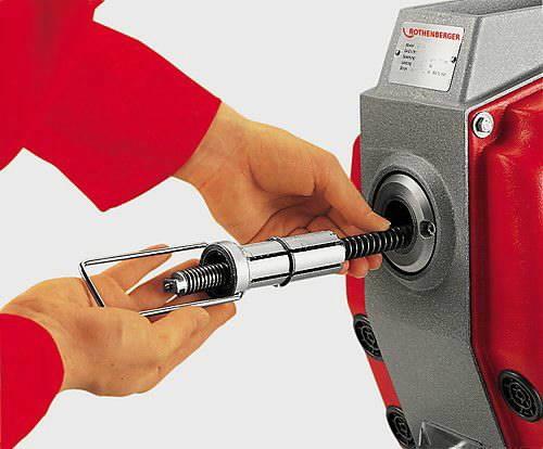 torupuhastaja -200mm R750 põhimasin