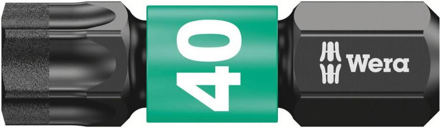 Otsak 1/4´´ 867/1 IMP DC Impaktor TORX TX 40x25, Wera