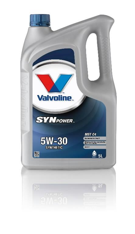 SYNPOWER MST C4 5W30 motor oil 5L, Valvoline