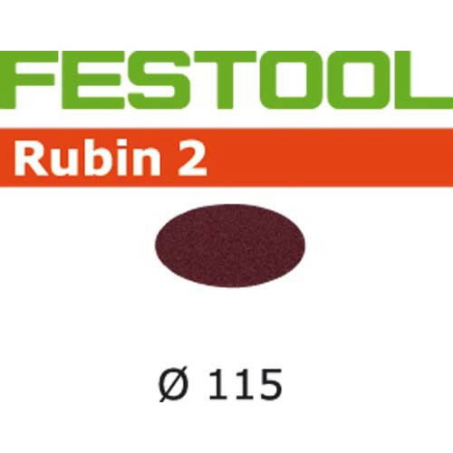 Lihvkettad RUBIN 2 / D115 / P40 / 50tk, Festool