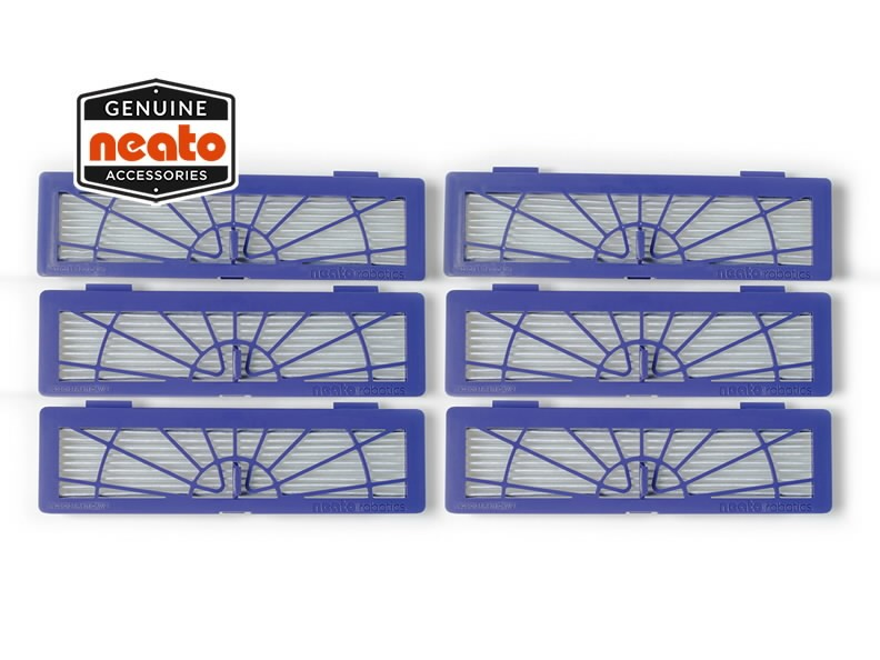 Peenete osakeste filter Connected, D85/75, D3-D7, 6tk., Neato