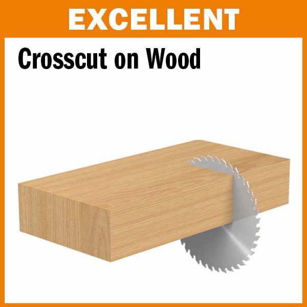 Sawblade for wood 190x2,6x30mm Z64 a=15° b=15° ATB, CMT