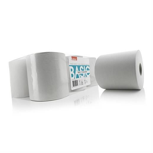 Paberrätik rullis  Basic/ 1- kiht/ 6 x 300 m, Satino