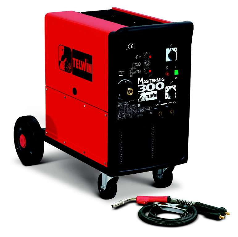 полуавтоматический сварочный аппарат  Mastermig 300 300A=25  EURO-соед. без горелки, TELWIN