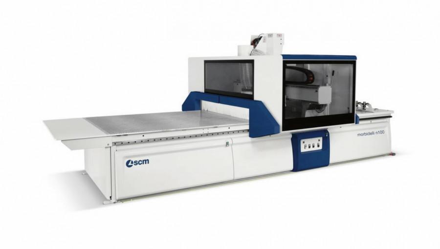 CNC töötlemiskeskus Morbidelli N100 22 A 4286x2185, SCM