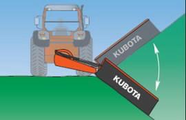 Mower  DM 2032, Kubota