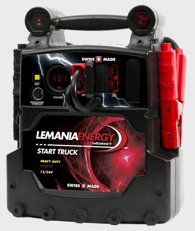 Kasutatud käivitusabi P21 12V/24 2x22Ah 2500/5000A(P), Lemania