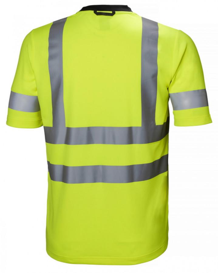 T-särk Addvis kõrgnähtav CL2, kollane 3XL, Helly Hansen WorkWear