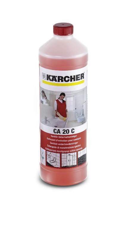 Sanitaar igapäevane puhastusaine, CA 20 C, 1L, konsentraat, Kärcher