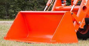 Bucket 72 in/183 cm for loader LA1365/LA1154, Kubota