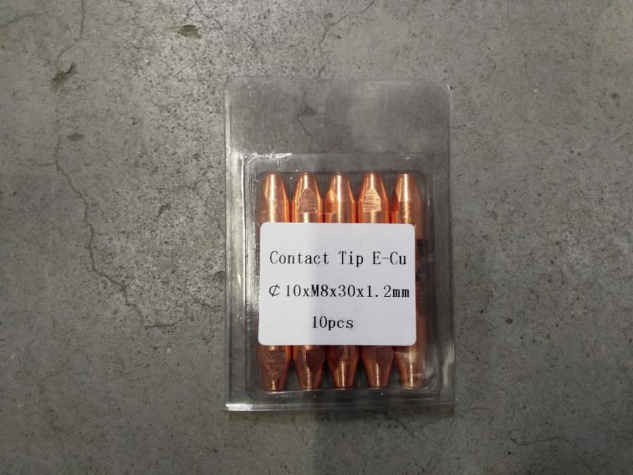 Kontaktsuudmik E-Cu M8x30x10 - 1,0mm, Premium1