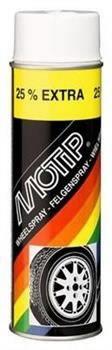 Universaalvärv/veljevärvWHEEL SPRAY matt must 500ml aerosool, Motip