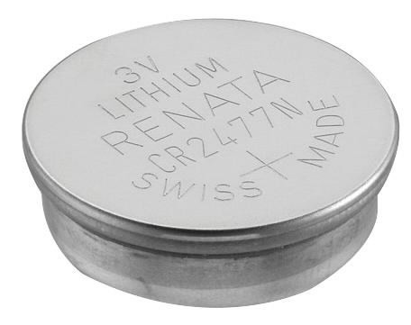 Patarei CR2477 N 3V, Lithium, Renata, pakis 1tk, GP