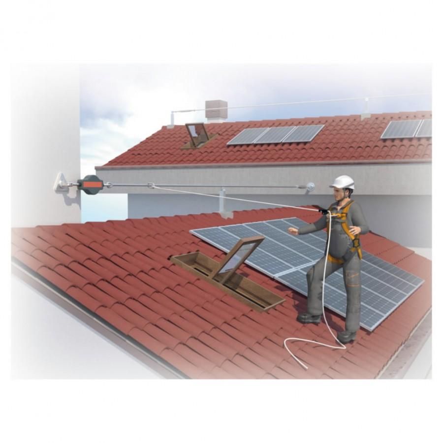 Kukkumisvastase varustuse komplekt Elara 170 katusetöödeks, Delta Plus