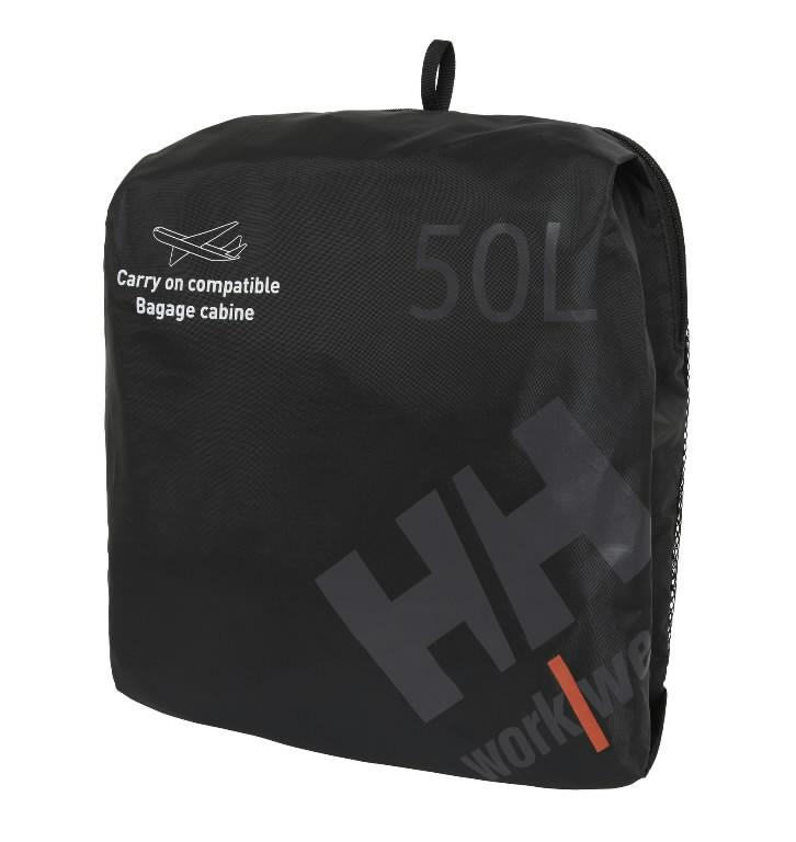 Varustuse kott, must 50L, Helly Hansen WorkWear