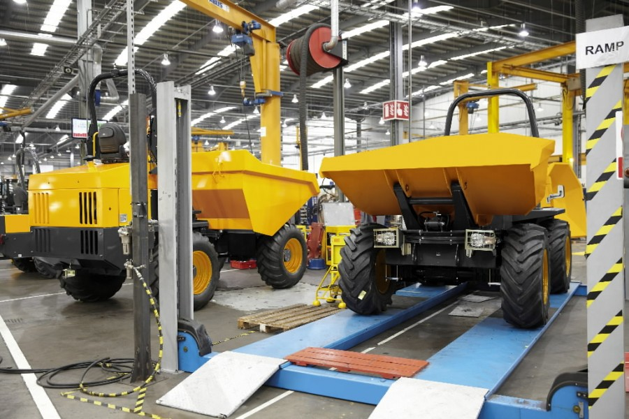 SIte Dumper Assembly line