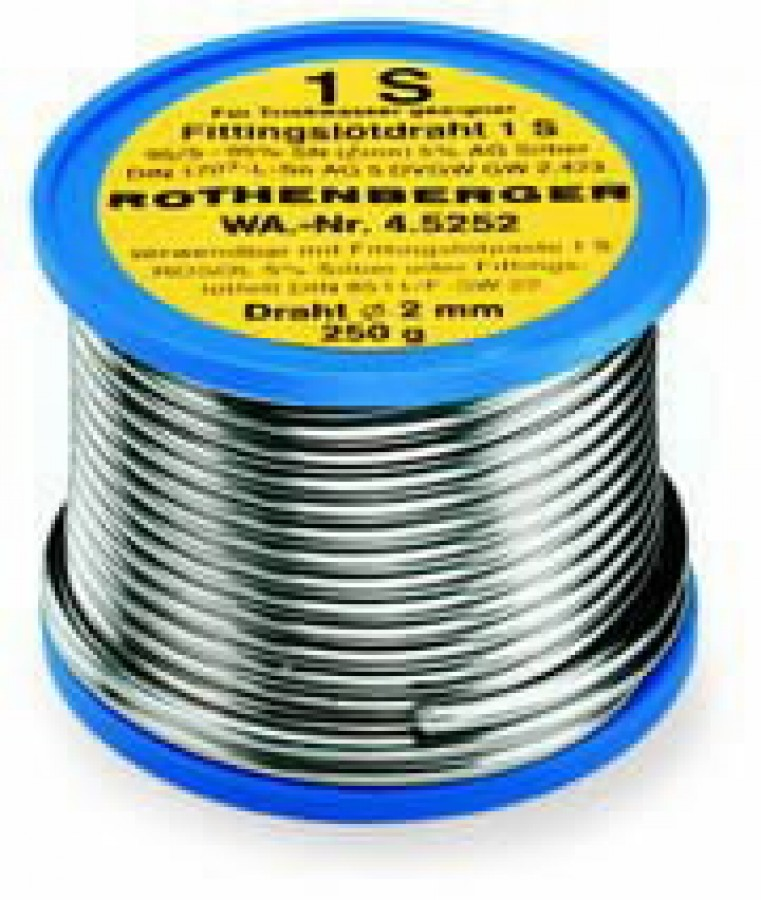 Pehmejoodistraat 3mm 250g 1S, Rothenberger