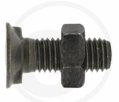 Bolt with nut, Granit