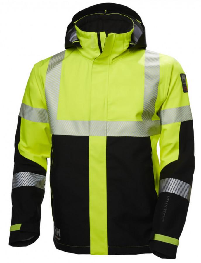 Koorikjope Icu kõrgnähtav CL3, kollane/must 2XL, Helly Hansen WorkWear