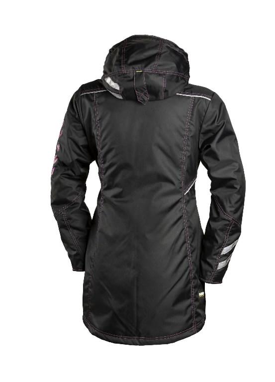 Winter jacket parka 6079 women, black/pink XS, Dimex
