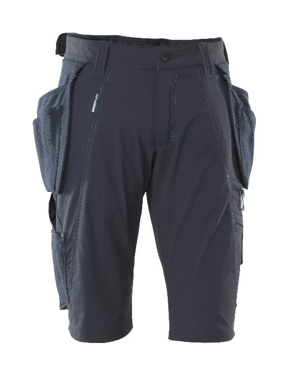 Trousers with holsterpock.shorts 17149 Advanced, dark navy C58, Mascot