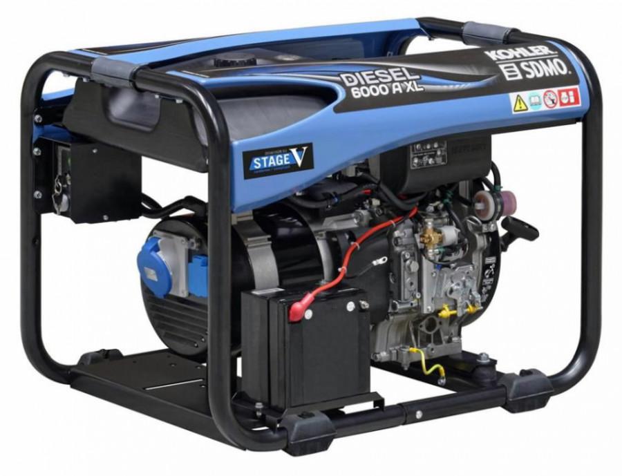 Elektrigeneraator DIESEL 6000 A XL C5, SDMO