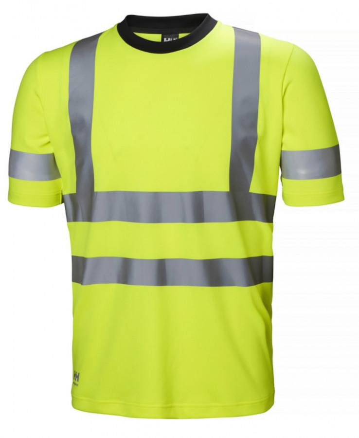 T-särk Addvis kõrgnähtav CL2, kollane 4XL, Helly Hansen WorkWear