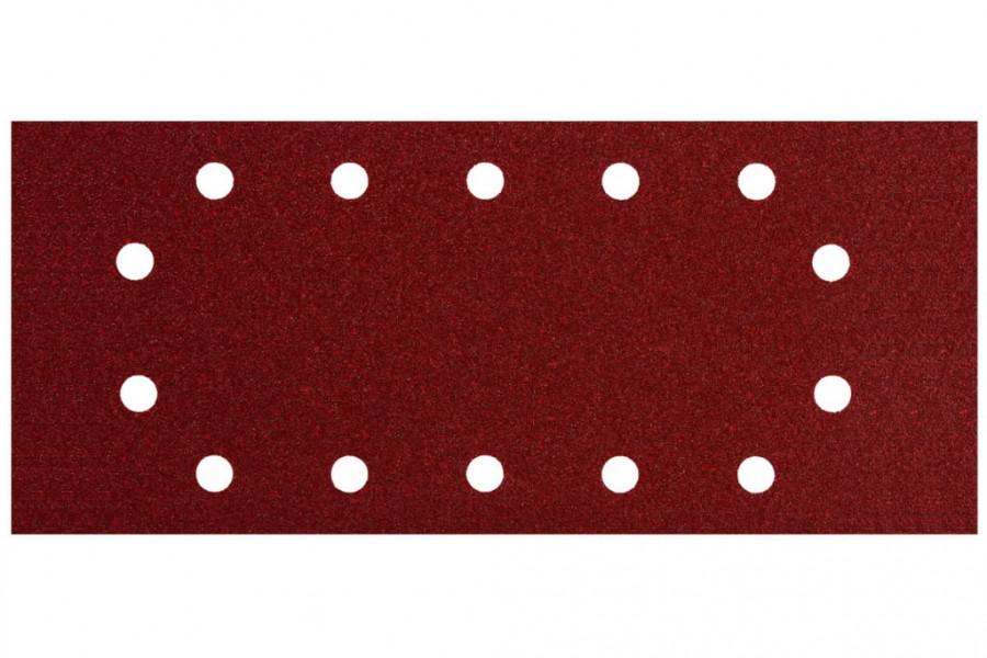 Šlifavimo popierius 115x280 mm P100 10 vnt., Metabo