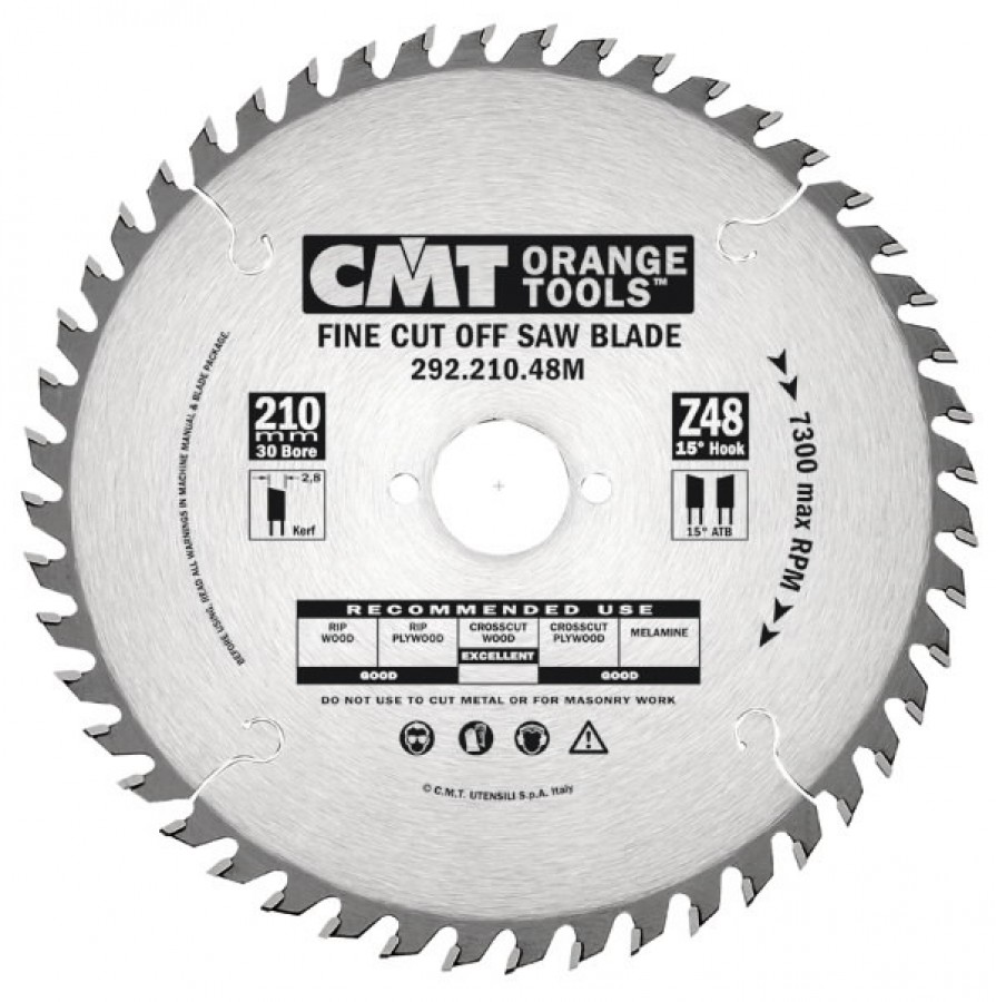 SAW BLADE FOR PORTABLE 184X2.6X30 Z=40, CMT