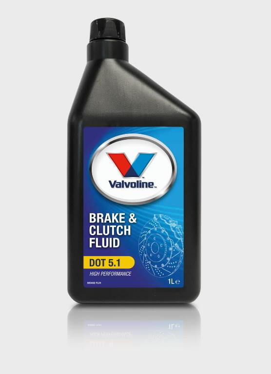 Pidurivedelik BRAKE & CLUTCH FLUID DOT 5.1 1L, Valvoline