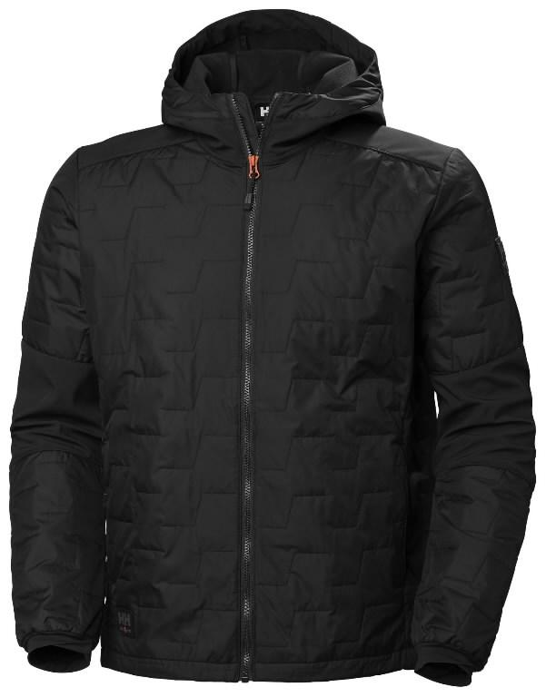 Jacket hooded Kensington Lifaloft, black 4XL, Helly Hansen WorkWear