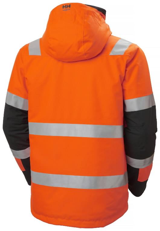 Talvejope Alna 2.0 kõrgnähtav CL3, oranz/must L, Helly Hansen WorkWear