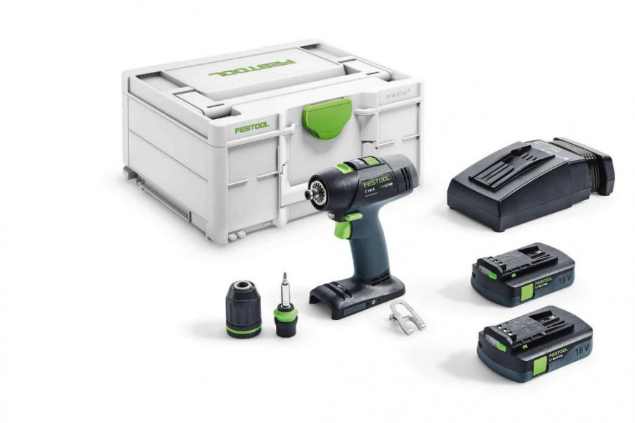 Akutrell T 18+3 C 3,1-Plus 18V, Festool