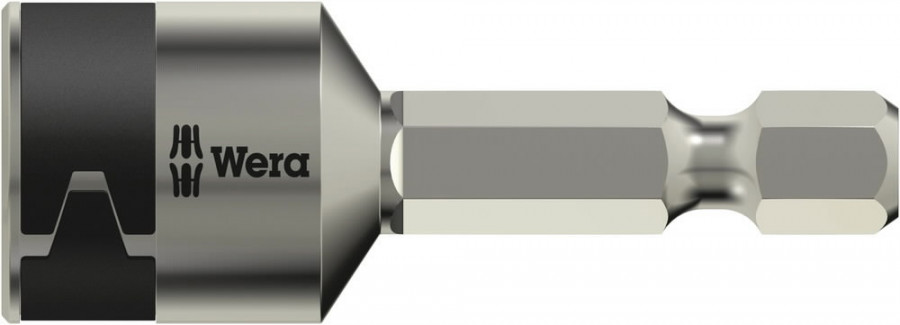 Padrunotsak 1/4´´ 3869/4 roostevaba, HEX 8,0x50,0, Wera
