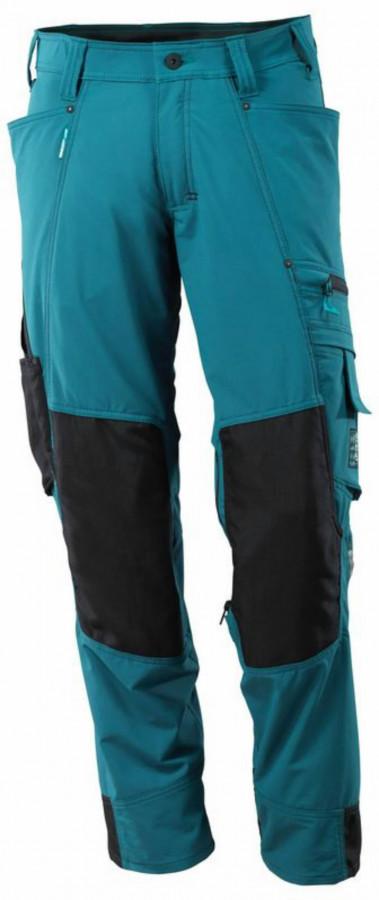 Tööpüksid 17179 Advanced, sinine/must 82C54, Mascot
