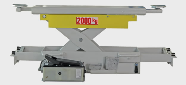 Sillatõstuk 2T J20PNX, Pneumohüdrauliline, , Ravaglioli