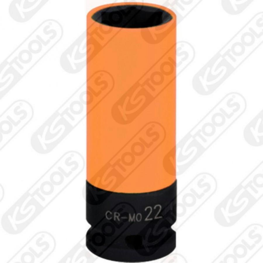 """Löökpadrun pikk 1/2"""" 22mm, KS Tools"""
