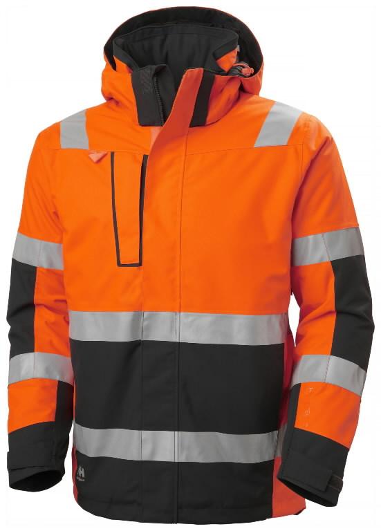 Talvejope Alna 2.0 kõrgnähtav CL3, oranz/must XL, Helly Hansen WorkWear