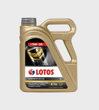Motor oil SYNTHETIC C2+C3 5W30 4L, Lotos Oil