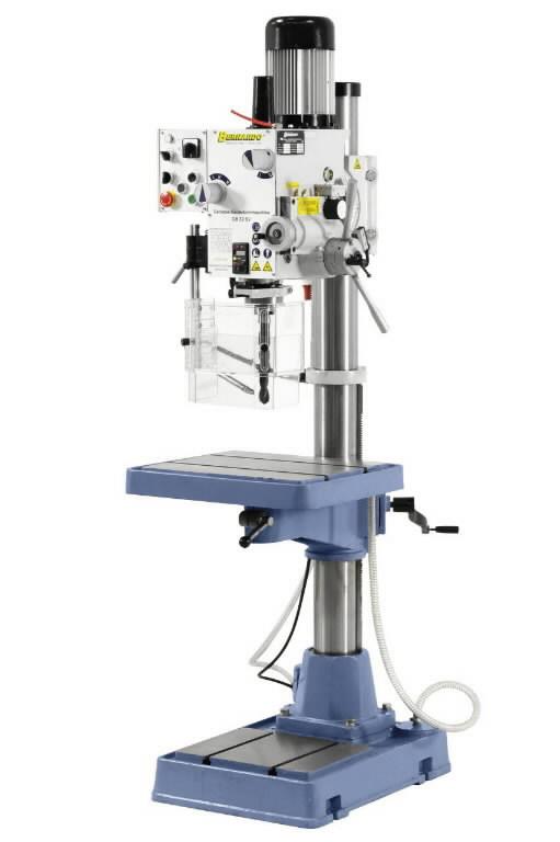 Gerahead drilling machine, Bernardo