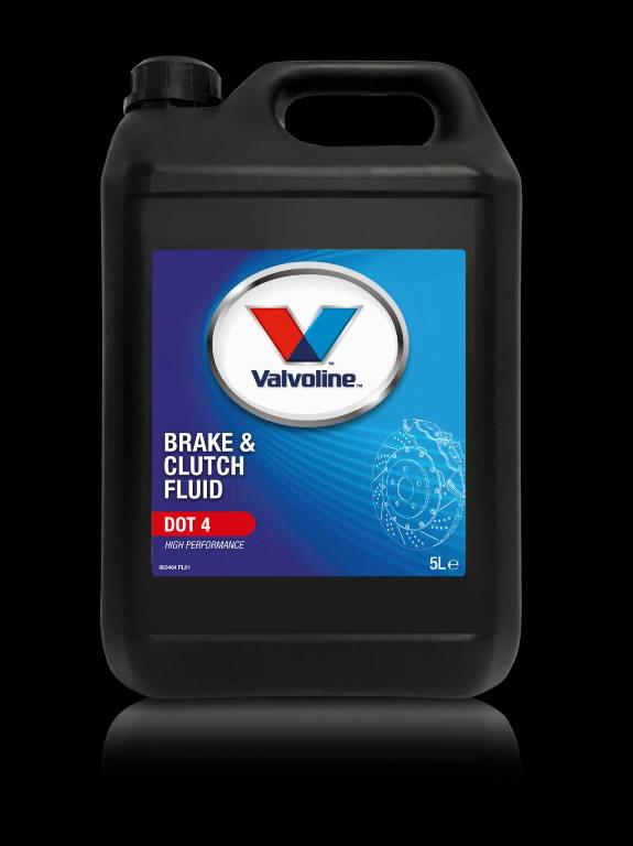 Pidurivedelik BRAKE & CLUTCH FLUID DOT 4 5L, Valvoline