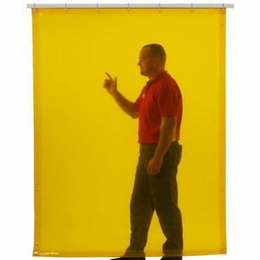 UV aizsradzības aizskars 160x140cm, dzeltens, Cepro International BV