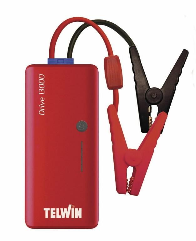 12V käivitusabi / akupank Drive 13000 (Li-Polymer), Telwin