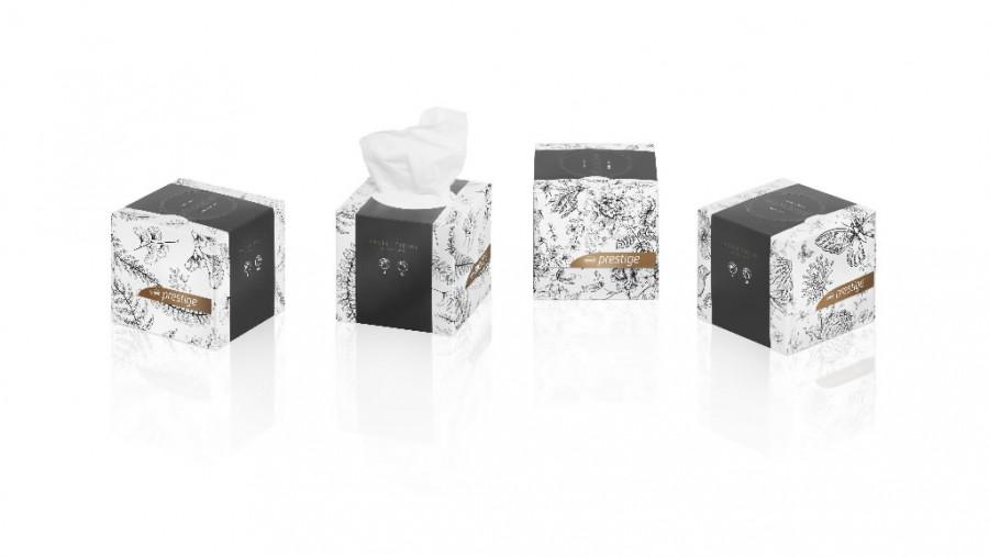 Kosmeetilised salvrätid / 3- kihti/ 30 pakki kastis